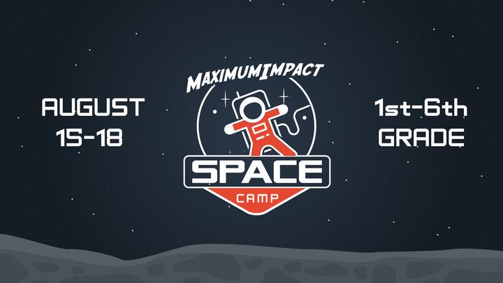 Maximum Impact Space Camp logo image