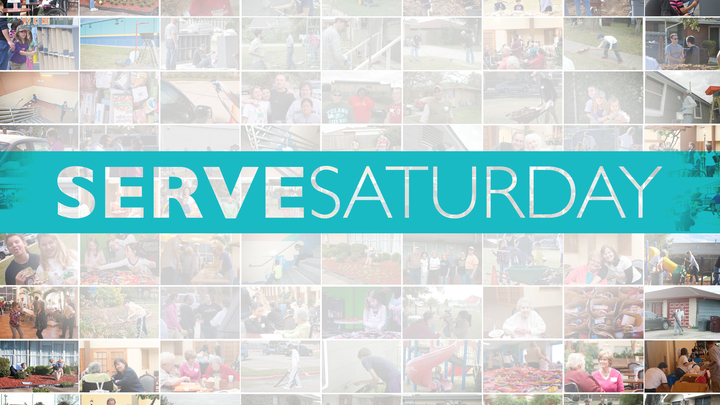 Second Saturday Serve logo image