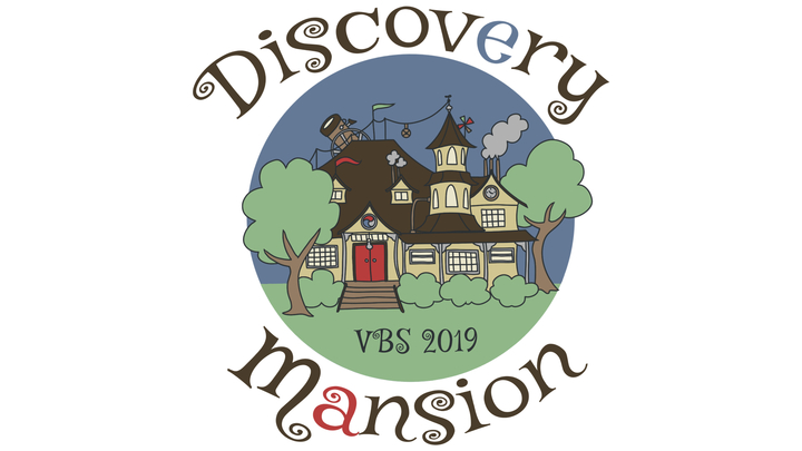 Discovery Mansion VBS logo image