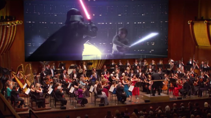 Cleveland Orchestra Star Wars The Empire Strikes Back at Blossom logo image