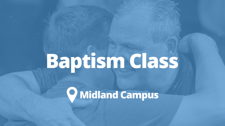 Baptism Class- Midland | September logo image
