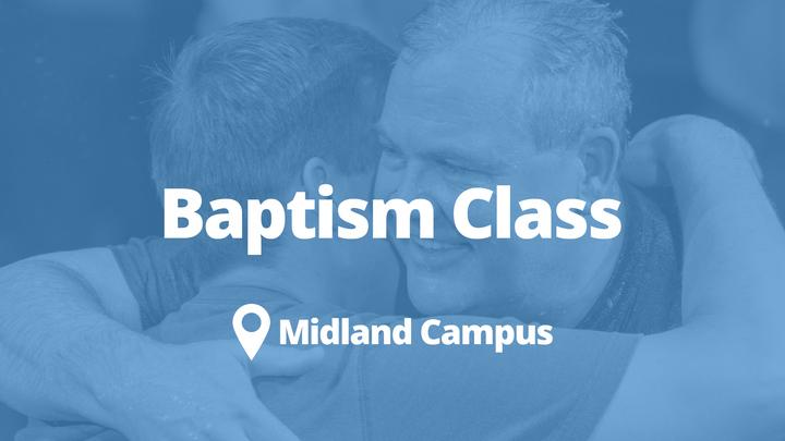 Baptism Class- Midland | October logo image