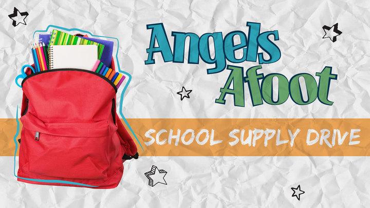 Angels Afoot School Supply Drive Volunteers logo image