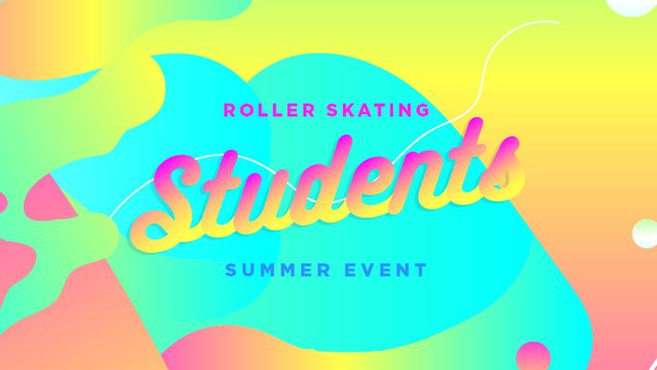 Students Summer: Roller Skating logo image