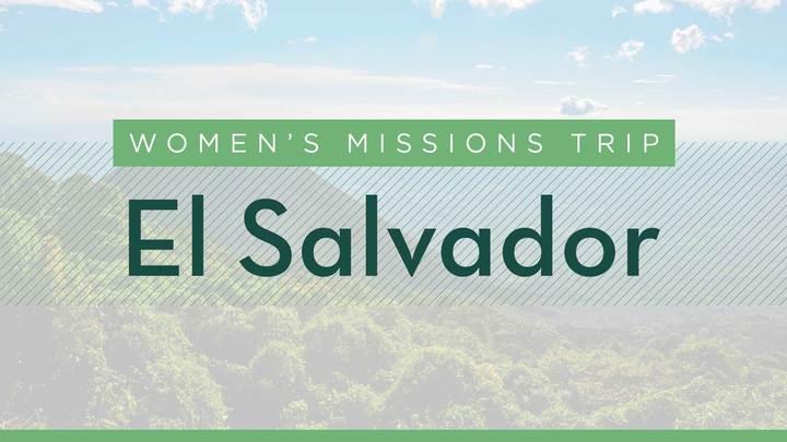 Women's 2019 El Salvador Mission Trip logo image