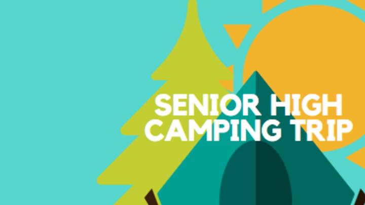 Senior High Camping Trip logo image