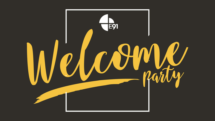Welcome Party - September logo image