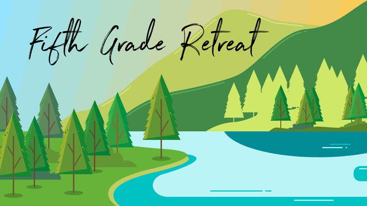 5th Grade Retreat logo image
