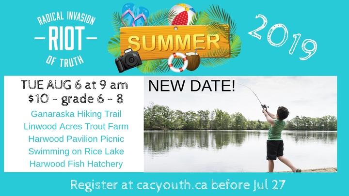 RIOT Rice Lake Fishing Tour & Picnic logo image