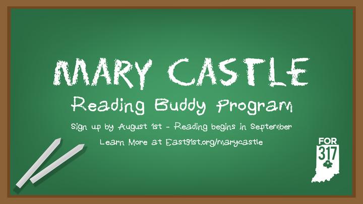Mary Castle Reading Buddy logo image