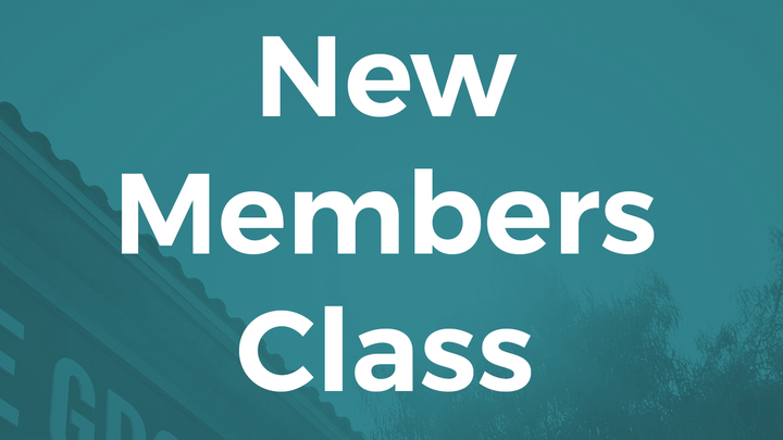 New Members Class-September 18, Baptismal Courtyard logo image