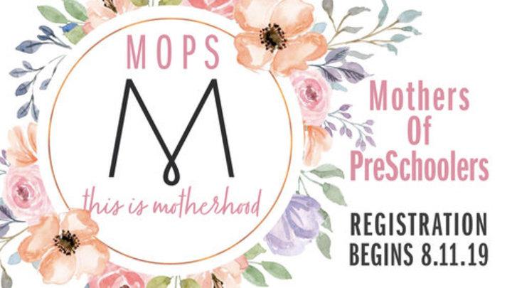 2019-2020 MOPS Registration logo image