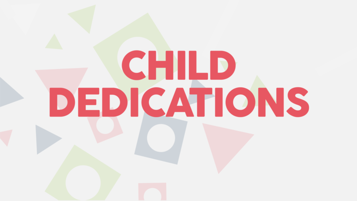 HR | Child Dedications Fall 2019 logo image