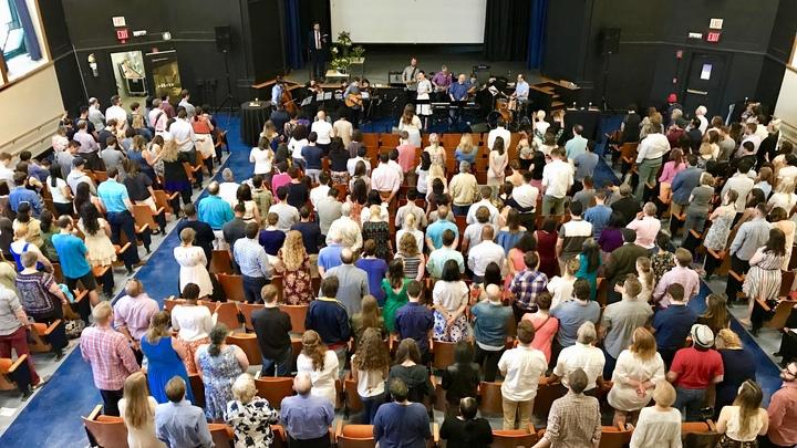 10th Anniversary Sunday Worship logo image