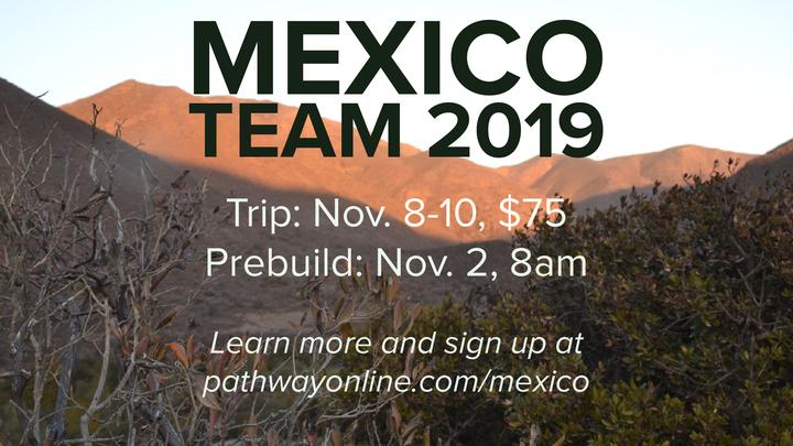 Mexico Trip - Fall Loft House Build logo image