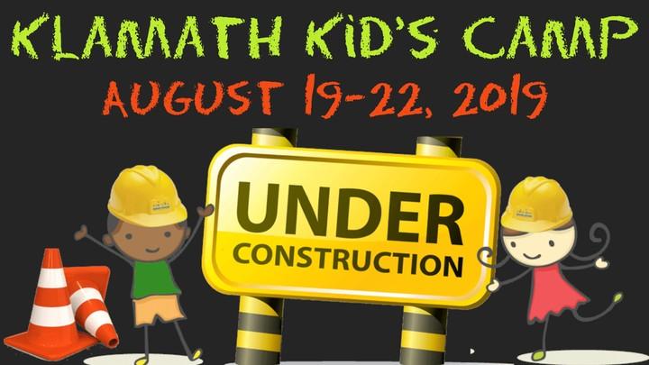 Klamath Kids Camp 2019 logo image