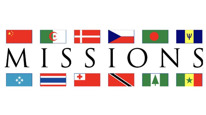Missions Emphasis Week: October  17-19, 2019 logo image