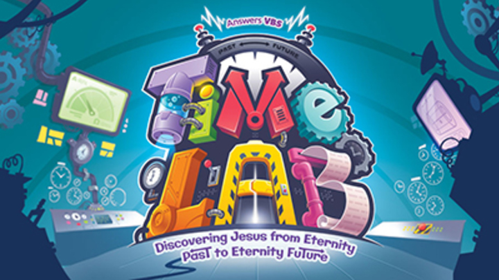 Time Lab VBS - July 29th - August 2nd -  6:00 - 9:00 PM  logo image