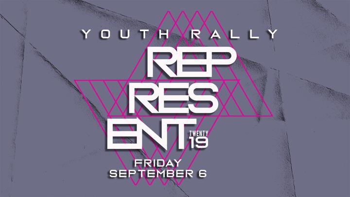 Represent Youth Rally  logo image