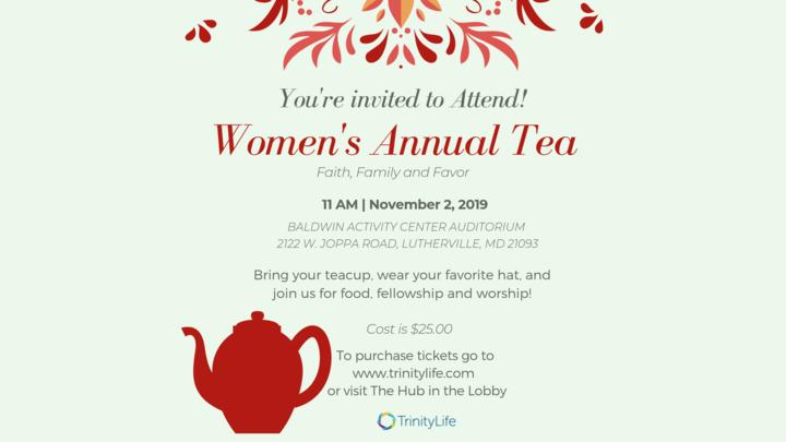 Trinity Women Annual Tea logo image