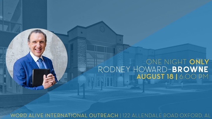 ONE NIGHT w/ Rodney Howard-Browne logo image
