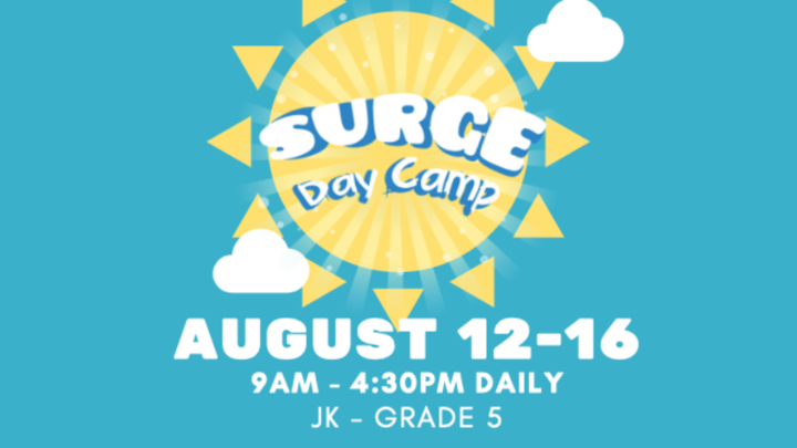 SURGE Day Camp logo image
