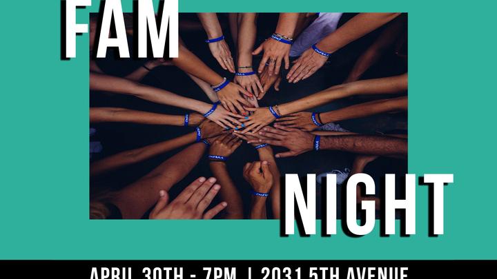 FAM Night logo image