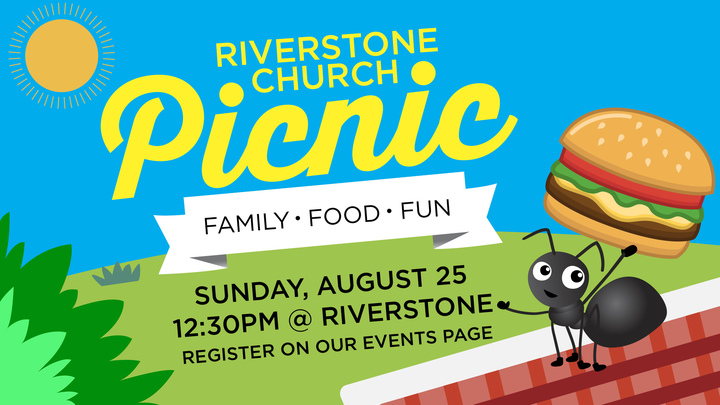 Riverstone Church Picnic logo image