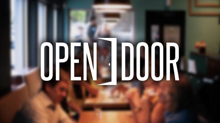 Open Door logo image