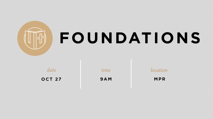 Foundations Class | Fall 2019 Session II logo image