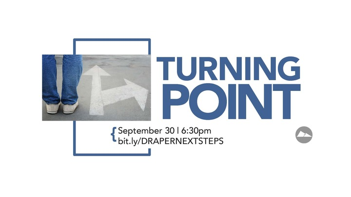 Turning Point | Draper logo image