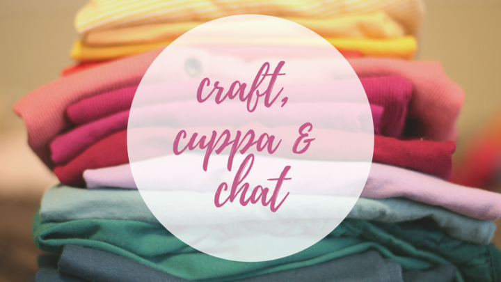Craft Cuppa + Chat logo image