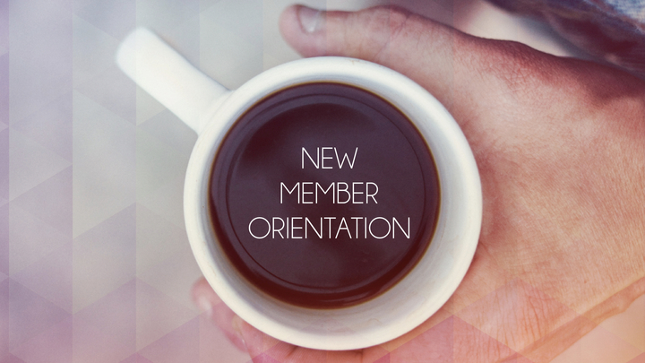 New Member Orientation logo image