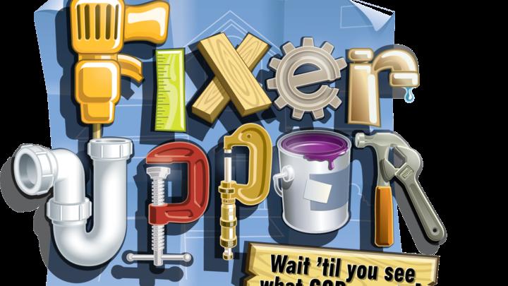 Fixer Upper: VBS logo image