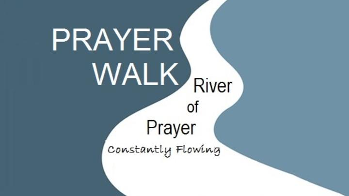 NEW: Prayer Walk Saturday, July 13 logo image