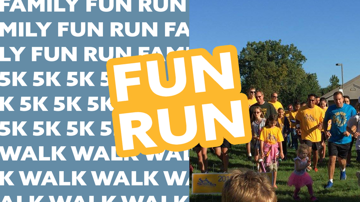 5K Family Fun Run or 1.5 Mile Walk logo image