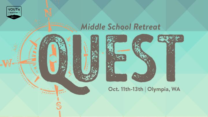 QUEST Middle School Retreat logo image