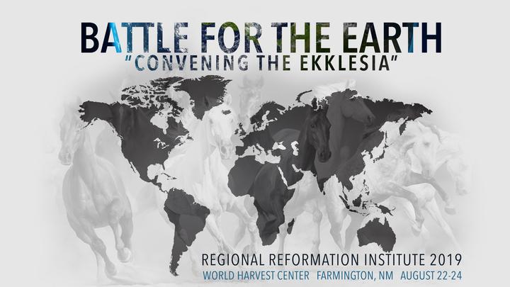 Battle for the Earth -Convening the Ekklesia logo image