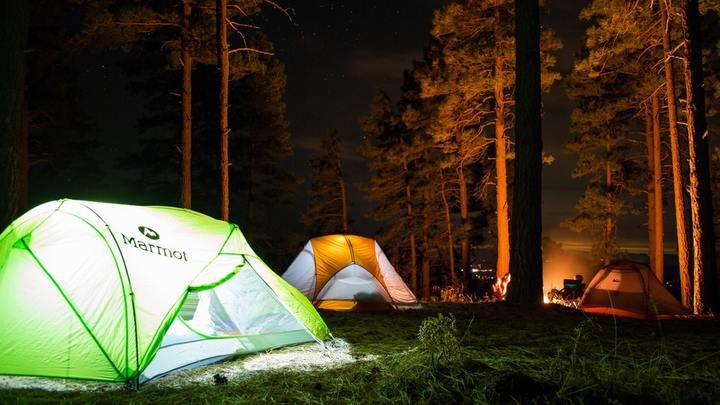 Church Camping Trip logo image