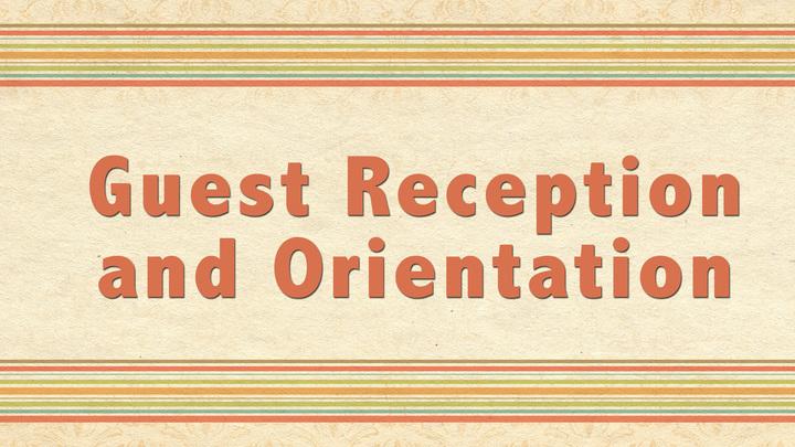 Guest Reception & Orientation logo image