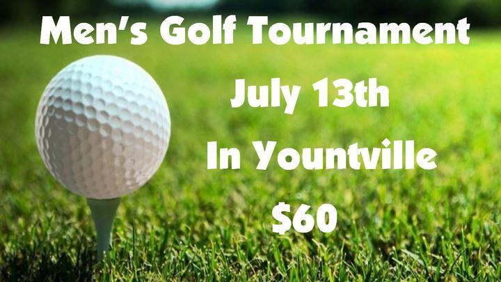 Men's Golf Tournament logo image