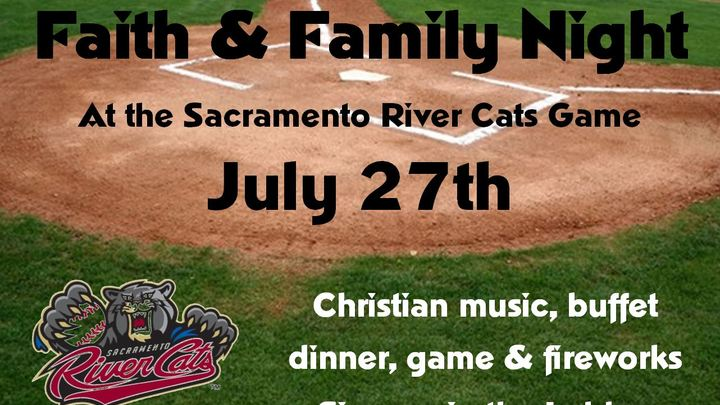 Faith & Family Night at the Sacramento River Cats logo image