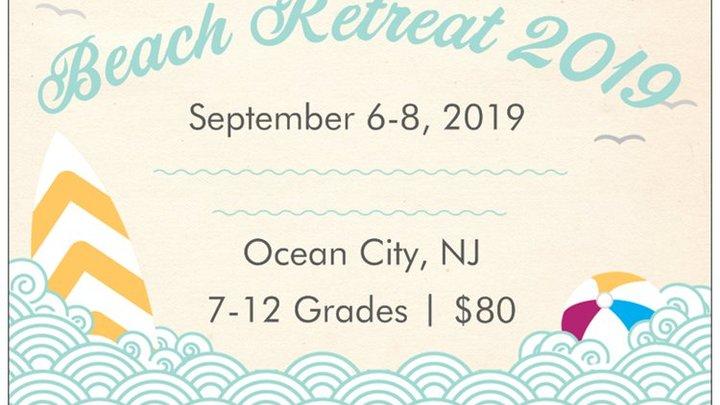 Youth Beach Retreat logo image