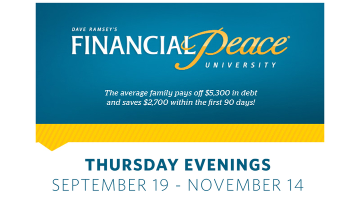 Financial Peace University - Fall 2019 logo image