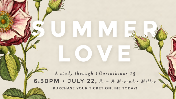 Women's Ministry | Summer Love | July logo image