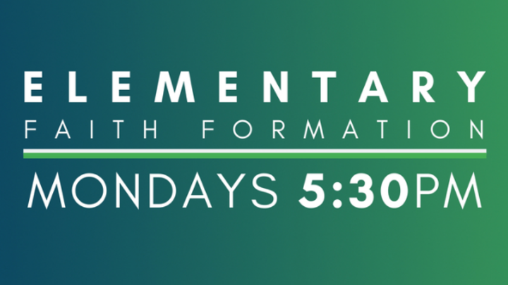 Monday 5:30 Elementary Faith Formation logo image