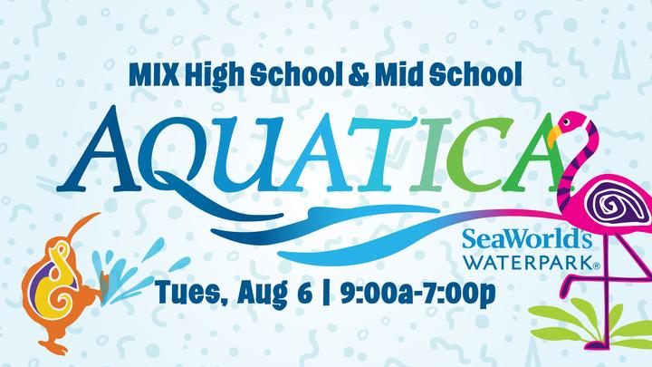 Mix Aquatica Water Park logo image