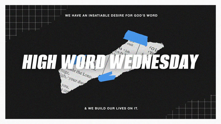 HIGH WORD WEDNESDAY logo image