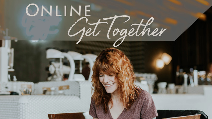 Small Group Get Together - ONLINE logo image