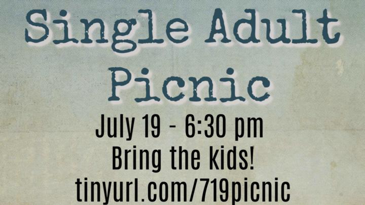 Single Adult Picnic logo image